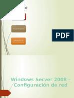 Windows Server 2008 - Configuracin de Red