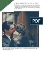 IMDb 25th Anniversary - IMDb Iconic Movie Quotes