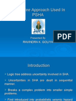 Logic Tree Approach Used in PSHA