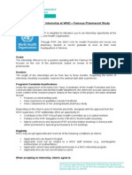 Call for the IPSF Internship at WHO – Famous Pharmacist Study