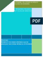 Comisiones y Rendimientos de Los Fondos de Pensiones en Los Paises de La Ocde