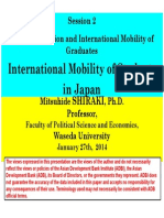 International Mobility of Students in Japan