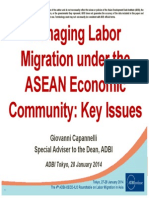 Managing Labour Migration under the ASEAN Economic Community