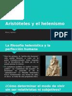Aristóteles y El Helenismo