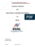trainingdevelopmentsurveyatbsnlmbahrprojectreport-120612235019-phpapp01
