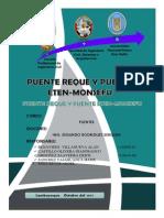 Informe de La Visita de Campo Puentes Monsefu Reque