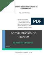 Administracion de Usuarios Investigacion
