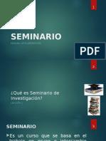 Manual de Seminario de Graduación