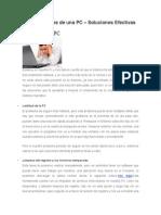 Fallas Comunes de Una PC – Soluciones Efectivas