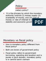 MBFI_Banks & Monetary Policy