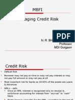 MBFI_Credit Risk Management