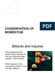 conservation of momentum ppt