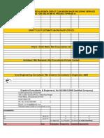 Cost Estimate Workshop Office R1 12.03.15
