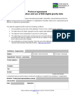BGI Gravity Data Protocol 2013