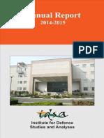 IDSA - Annual Report 2014-15