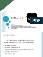LIMBAH B-3 ...