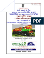 Trouble Shooting Guide for Loco Pilots on Microprocessor MEP-660 (Ver-2.0) WDM3A & WDG3A Locomotives (English)