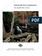 Pardee Resources Company 3rd Quarter 2015