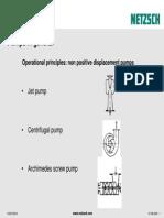 Different Pump Principles