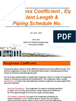 Roughness Coefficient & Piping Schedule No22.pptx