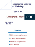 3- Orthographic Projection