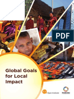Global Goals for Local Impact