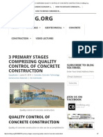 3 Primary Stages Comprising Quality Control of Concrete Construction _ Civilblog
