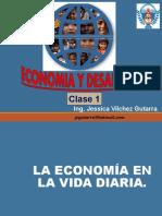 economia y desarrollo (en la vida diaria)
