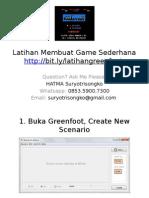 Step by Step Membuat Game Sederhana