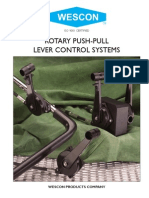 Wescon Push Pull Controls Rotary Lever2009-12-r1