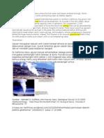 Geothermal Manifestasi