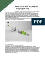 Turitorial Instal Linux Mint 15
