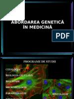Abordarea Genetica in Medicina