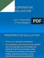 Preoperative Evaluation