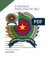 Jurnal Basis Data MySQL