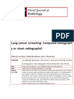 WJR-Lung Cancer Screening Computed Tomography or Chest Radiographs