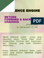 Mesin Inferensi (Forward & Backward Chaining)