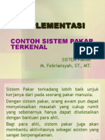 Implementasi Sistem Pakar