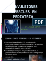 Convulsiones Febriles en Pediatria