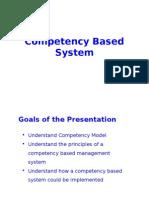 Compentency Model