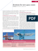 Seismic Considerations for New Quay Cranes