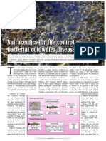 Nutraceutics for the control of bacterial coldwater disease