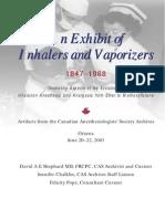 Exhibit of Inhalers