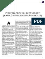 Visayan-English Dictionary