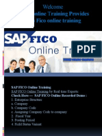 Best Sap FICO online training in India, Canada, Usa, Uk