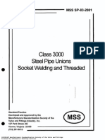 MSS SP-83-2001