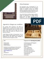 Sirah & Agenda (Düsseldorfer Seminarreihe)