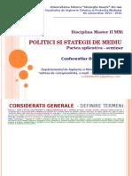 politici de mediu seminar