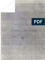 Weckerling Family History partial
