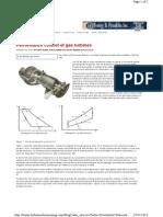 Performance Control of Gas Turbines